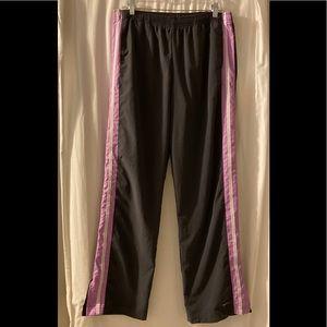Nike Athletic  Track Pants Women's L 12 14 Gray